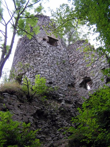 Starý hrad Strečno.