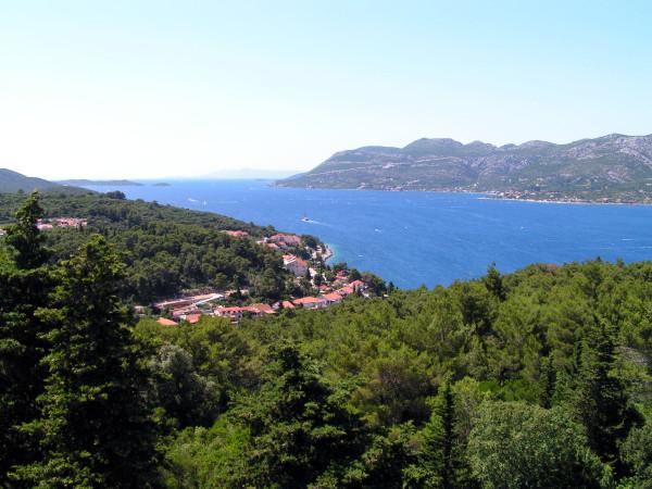 Výhľad na poloostrov Pelješac