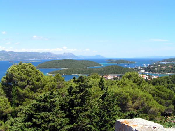 Výhľad na ostrovy