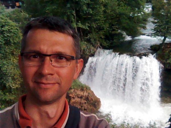 A na záver ešte jedna selfie - keďže sa jedná o earthkeš, nech mám nejaký dôkaz že som tu bol :-).