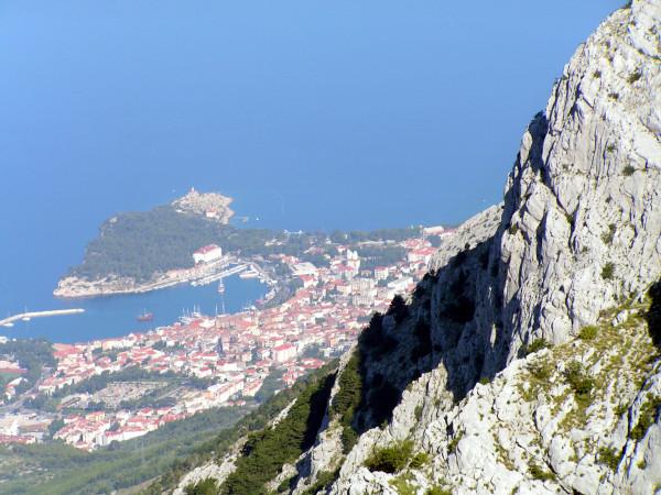 Výhľad na Makarsku