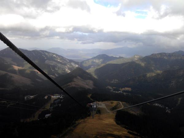 Chopok - cesta hore