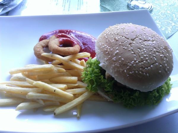 Kútik chuti - Hamburger