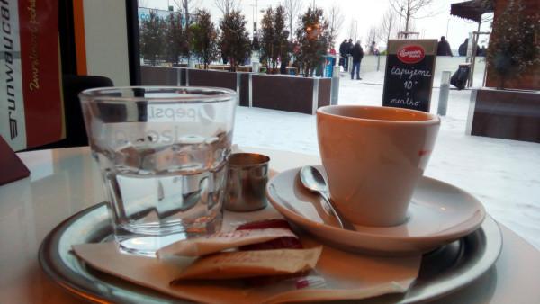 Káva & klzisko Bory