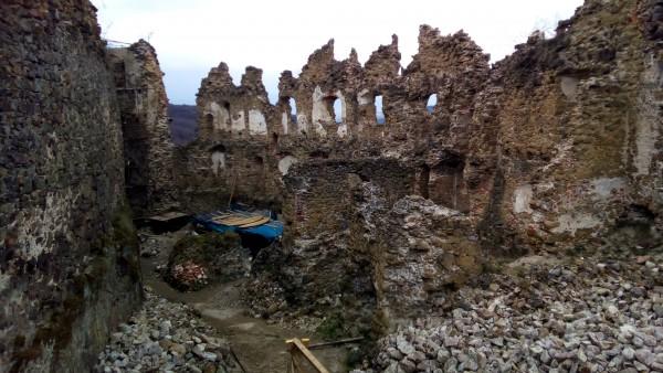 Hrad Šášov - ruiny