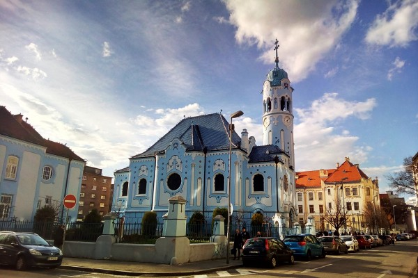 Modrý kostolík Bratislava